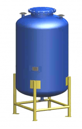 vertical-storage-tanks-with-a-steel-stand-trokotex